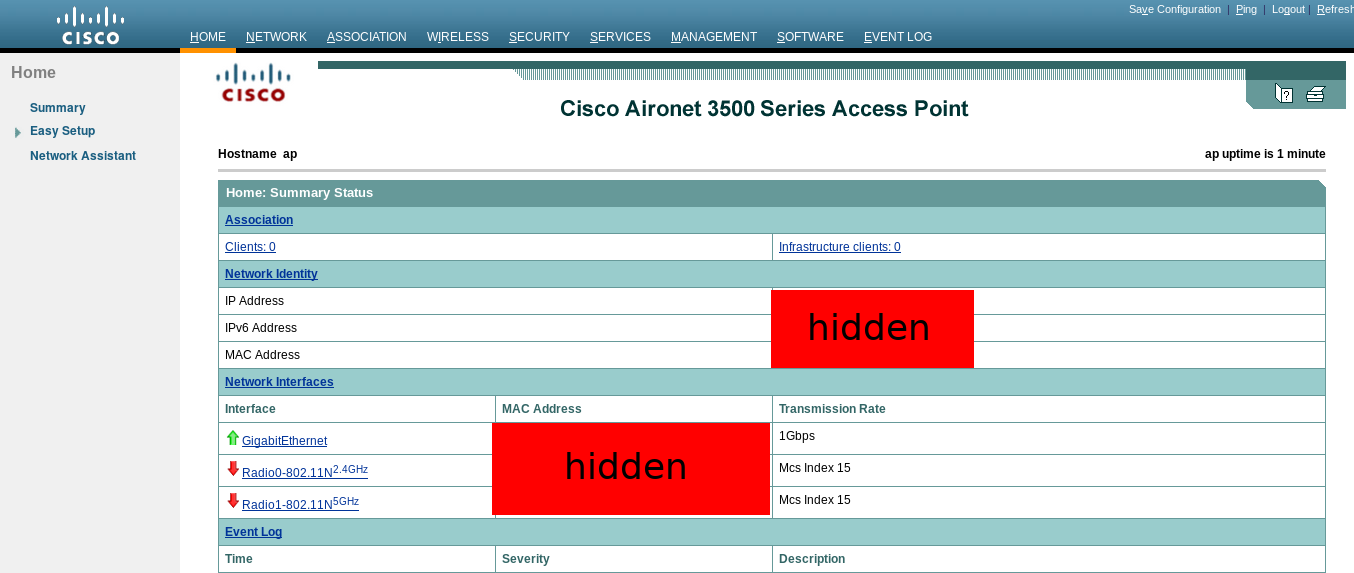A guide to fighting with a Cisco access point - https